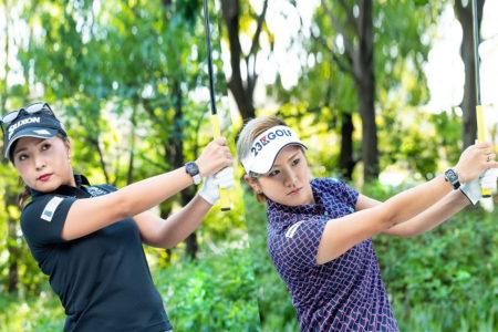 人気プロゴルファーとのラウンド権をチャリティオークションに出品