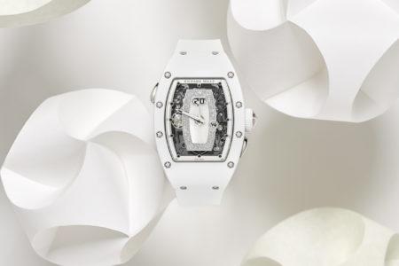 真っ白なリシャール・ミルの新作「RM 037 オートマティック」発表