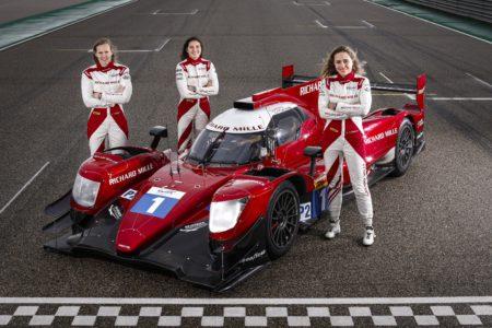女性のトリオ、リシャール・ミル レーシングチームの華麗なる活躍
