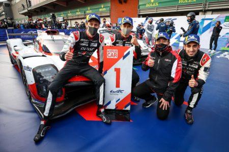 世界耐久選手権(WEC)の開幕戦で、中嶋一貴&セバスチャン・ブエミ組のトヨタ8号車が優勝!
