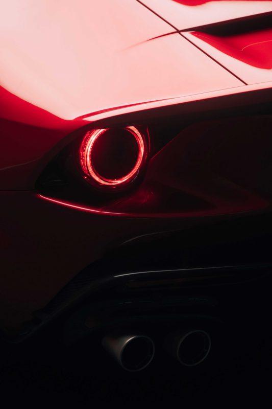 Ferrari_Omologata リヤ・スリークォーター・パネル