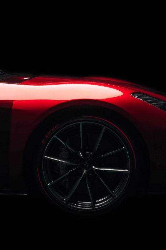 Ferrari_Omologata ワンオフモデル ステアリング・ホイール